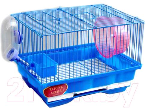 Купить Клетка для грызунов Золотая клетка, 114, Китай, голубой