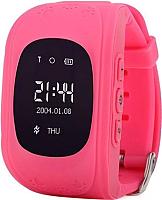 Умные часы детские Smart Baby Watch Q50 (розовый) -