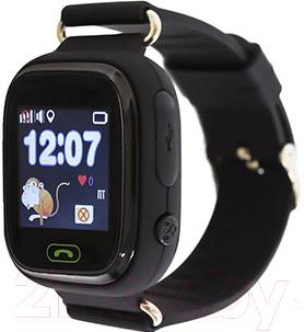 Умные часы детские Smart Baby Watch Q80 (черный)
