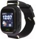 Умные часы детские Smart Baby Watch Q80 (черный) -