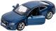 Масштабная модель автомобиля Bburago Street Fire Ауди A5 / 18-43008 (синий металлик) -