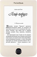Электронная книга PocketBook 615 Plus / PB615-2-F-CIS (бежевый) -