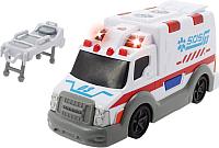 Автомобиль игрушечный Dickie Машина скорой помощи со светом и звуком / 203302004 -