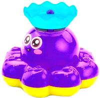 Игрушка для ванной Bradex Фонтан-осьминожка DE 0249 (фиолетовый) -