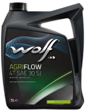 Купить Моторное масло WOLF, AgriFlow 4T SAE 30 SJ / 1503/5 (5л), Бельгия