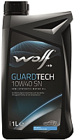 Моторное масло WOLF GuardTech 10W40 SN / 16127/1 (1л) -
