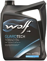 Моторное масло WOLF Guardtech B4 Diesel 10W40 / 23126/5 (5л) -