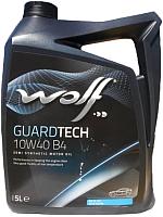 Моторное масло WOLF Guardtech B4 10W40 / 23127/5 (5л) -