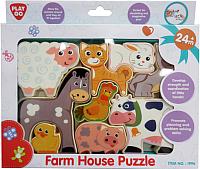 Развивающая игра PlayGo Пазл Ферма 1996 -