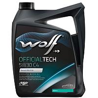 Моторное масло WOLF OfficialTech 5W30 C4 / 65608/4 (4л) -