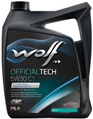 Купить Моторное масло WOLF, OfficialTech 5W30 C1 / 65605/4 (4л), Бельгия