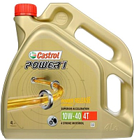 Моторное масло Castrol Power 1 4T 10W40 / 15688C (4л) -
