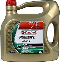 Моторное масло Castrol Power 1 Racing 4T 10W50 / 157E4C (4л) -