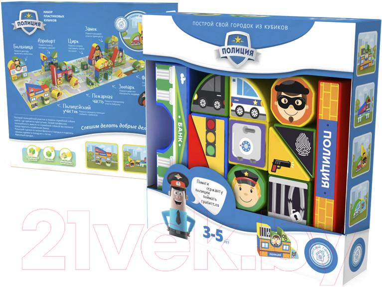 Купить Развивающая игрушка Magneticus, Пластиковые кубики. Полиция / BLO-003-06, Россия, пластик