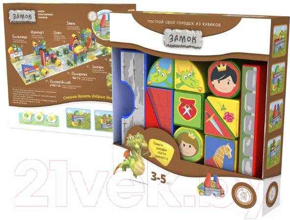 Купить Развивающая игрушка Magneticus, Пластиковые кубики. Замок / BLO-003-08, Россия, пластик