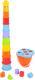 Развивающая игрушка PlayGo Пирамидка-ведерко Жираф 2388 -