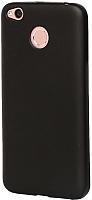 Чехол-накладка Case Deep Matte для Redmi 4X (черный) -