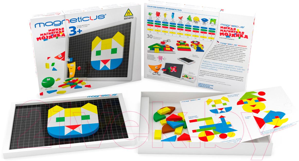 Купить Развивающая игрушка Magneticus, Мозаика 3+ / MM-146, Россия, вспененный полимер