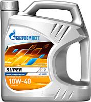Моторное масло Gazpromneft Super 10W40 / 253142143 (5л) -