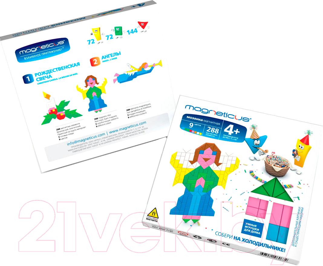 Купить Развивающая игрушка Magneticus, Мозаика. Ангелы / MM-17BL, Россия, вспененный полимер