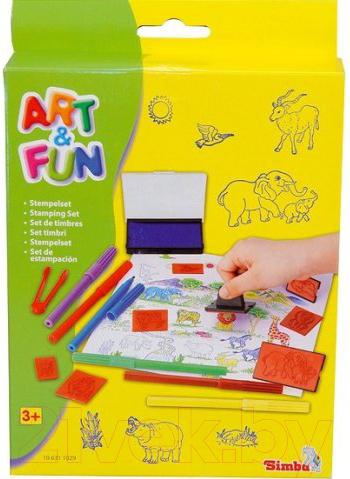 Купить Набор для творчества Simba, Набор печатей фломастеров 106311029, Китай, пластик