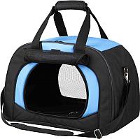 Сумка для животных Trixie Kilian 28952 (чёрный/синий) -