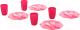 Набор игрушечной посуды Полесье Ретро / 61713 (16эл) -