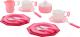 Набор игрушечной посуды Полесье Ретро / 61720 (17эл) -