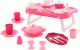 Набор игрушечной посуды Полесье Ретро с подносом / 61737 (29эл) -