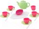 Набор игрушечной посуды Полесье на 4 персоны / 61393 (17эл) -
