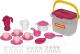Набор игрушечной посуды Полесье на 4 персоны / 56573 (29эл) -