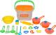 Набор игрушечной посуды Полесье 20 элементов / 56627 -