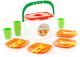 Набор игрушечной посуды Полесье Алиса для пикника №1 / 40756 -