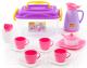Набор игрушечной посуды Полесье Алиса на 4 персоны / 53480 (в контейнере) -