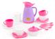 Набор игрушечной посуды Полесье Алиса на 4 персоны Pretty Pink / 40626 -