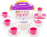 Набор игрушечной посуды Полесье Алиса на 4 персоны / 58980 (19эл) -
