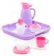 Набор игрушечной посуды Полесье Алиса на 2 персоны Pretty Pink / 40589 -