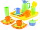 Набор игрушечной посуды Полесье Алиса на 4 персоны / 40640 -