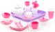 Набор игрушечной посуды Полесье Алиса на 4 персоны / 58973 (35эл) -
