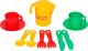 Набор игрушечной посуды Полесье Анюта на 2 персоны / 3827 -