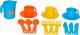 Набор игрушечной посуды Полесье Анюта на 3 персоны / 3834 -