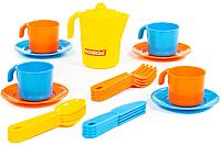 Набор игрушечной посуды Полесье Анюта на 4 персоны / 3841 -