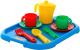 Набор игрушечной посуды Полесье Анюта с подносом на 2 персоны / 3865 -