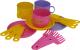 Набор игрушечной посуды Полесье Минутка на 3 персоны / 9561 -