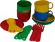 Набор игрушечной посуды Полесье Минутка на 4 персоны / 9578 -