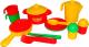 Набор игрушечной посуды Полесье Настенька на 2 персоны / 3902 -