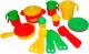 Набор игрушечной посуды Полесье Настенька на 4 персоны / 3926 -