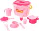 Набор игрушечной посуды Полесье Настенька на 4 персоны / 56566 (28эл) -