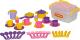 Набор игрушечной посуды Полесье Настенька на 6 персон / 56580 (38эл) -