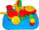 Набор игрушечной посуды Полесье Настенька с подносом на 4 персоны / 3964 -